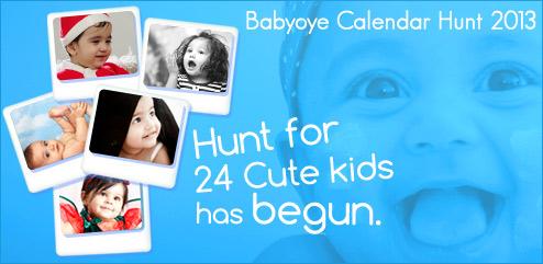 Babyoye Calendar Hunt