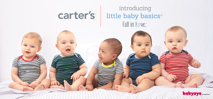 Come, Fall In Love… With The Little Baby Basics Carter's Collection!