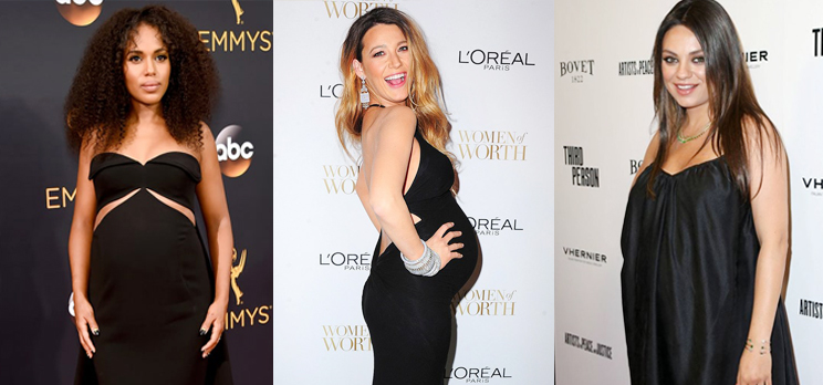 Maternity Fashion Alert! Celebs Expecting Their Baby #2