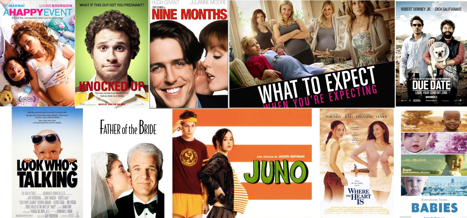 "10 Fun And Relaxing ""Must-Watch"" Pregnancy Movies!"